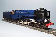 Lego LNER Peppercorn A1 'Tornado' WIP Sep 6 (michaelgale) Tags: train lego wip steam locomotive a1 tornado peppercorn moc lner