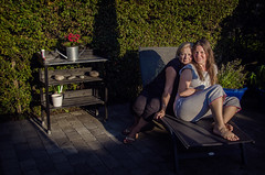 Delight (Melissa Maples) Tags: woman selfportrait me garden denmark nikon europe melissa blonde dane brunette nikkor maples vr afs  margit 18200mm f3556g  18200mmf3556g d5100 storelyngby