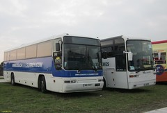 DAF MIG2457 & EOS bodied EOS E180Z L111PVW at Bestival Bus Station 4 September 2014 (IslandYorkie) Tags: buses isleofwight coaches singledeckers dafbuses eosbody busesinthesouthofengland eose180z busesontheisleofwight eosbuses oakcoaches l111pvw coachesontheisleofwight wwwcoachhiresurreycom bestival2014 mig2457 bestivalbusstation