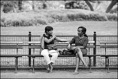 CI0A2832 B&W (Damien DEROUENE) Tags: street nyc people newyork bench centralpark damienderouene