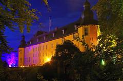 Schloss Dyck (ulrike.heck) Tags: castle night nightshot nacht nrw dmmerung schloss 2014 jlich illumina dyck ulrikeheck