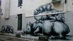 ROA / Bruxelles - 26 sep 2014 (Ferdinand 'Ferre' Feys) Tags: roa graffiti streetart belgium bxl brussels bruxelles graffitiart artdelarue graff urbanart belgique belgië brussel urbanarte arteurbano ferdinandfeys