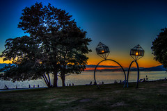 Rings at Sunset (Neil M Photography) Tags: sunset english vancouver bay rings