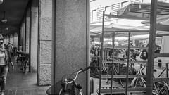 P1016529 (august_brain) Tags: street bw black italia negro mercato lombardia stradale oly cremona panny cittadino retrosesos