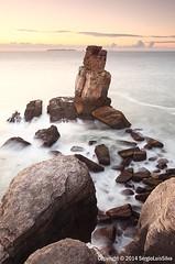 Goodbye Summer... (SrgioLusSilva) Tags: longexposure sunset seascape portugal peniche canon1740f4l naudoscorvos manfrotto055xprob canon5dmkii lee09soft leeholder hitech06reverse sergioluisislva srgiolussilva