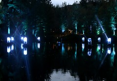 2016 - 14.10.16 Enchanted Forest - Pitlochry (59) (marie137) Tags: enchanted forest pitlochry mobrie137 scotland lights music people water reflection trees shows food fire drink pit patter shapes art abstract night sky tour family walk path bells smoke disco balls unusual whisperer bridge wood colour fun sculpture day amazing spectacular must see landscape faskally shimmer town