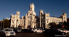 Cibeles y ayuntamiento (acampoh) Tags: madrid spain espaa phtowalk urban sunset wwpw2016 photowalk cibeles