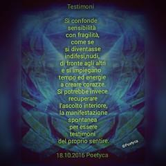 Testimoni (Poetyca) Tags: featured image immagini e poesie sfumature poetiche poesia