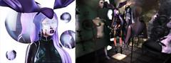 Luxury Problems . (Venus Germanotta) Tags: secondlife fashion fierce avantgarde mannequins plastic latex edit photoshop spheres glass reflection halloween hallowseve bunny luxury fancy melting style aesthetic heels platforms blog blogger littlebones weave garbaggio