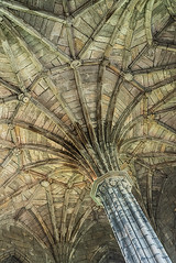 Chapter House Roof Paterns Elgin Cathedral (Geoff France) Tags: elgin elgincathedral runs church chapel cathedral mission building architecture roof scotland