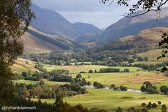 Glen Lyon Landscape, Highlands, Perthshire, Scotland (richardstelmach) Tags: glenlyon highlands landscape outdoors perthshire scotland thehighlands woodland