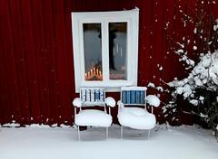 Winter is Here (keibr) Tags: keibr winter lightbridge redhouse garden uselection blip blipfoto