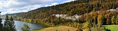 Automne au lac Brent (Diegojack) Tags: panorama paysages automne valledejoux lac brenet