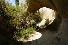 I love tunnels! ( V ) Tags: turkey turkiye torokorszag anadolu anatolia cappadocia kapadokya goreme uchisar ibrahimpasa ortahisar landscape tunnel medieval troglodyte geology rockformations