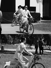 [La Mia Citt][Pedala] con il BikeMi al Wired NextFest (Urca) Tags: milano italia 2016 bicicletta pedalare ciclista ritrattostradale portrait dittico nikondigitale mir biancoenero blackandwhite bn bw 8984