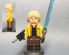 Custom lego rebel Hero Luke Skywalker (zthursam1205) Tags: custom lego minifugre luke rebel hero dl44 alliance skywalker star wars lightsaber episode 4 new hope