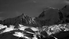 """(Isat"""") Tags: nature noiretblanc nuage neige montagne mountain moutains montblanc"""