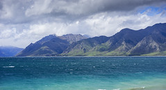 Hawea (borealnz) Tags: lake hawea lakehawea water blue mountains storm wind cold newzealand nz otago scenic stormy cloudy