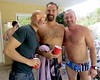 IMG_0237 (danimaniacs) Tags: party shirtless man guy sexy hot bald hairy hiary beard scruff trunks bathingsuit smile bulge