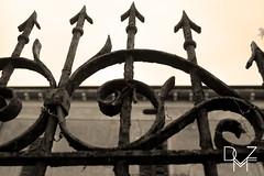casa stregata | haunted house (diemmezeta) Tags: sepia building house hauntedhouse casa casastregata seppia verona veneto gates detail details dettaglio dettagli