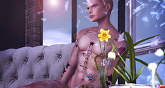 THIS IS WRONG Weirdo tattoo (THIS IS WRONG - tattoo design & clothes) Tags: tattoo ink inked applier weirdo creep radiohead maitreya belleza slink male female signature gianni adam