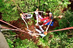 "Macucu Tree Climbing in Amazon. Manaus, Brazil. Feb 2011 #itravelanddance • <a style=""font-size:0.8em;"" href=""http://www.flickr.com/photos/147943715@N05/30472650016/"" target=""_blank"">View on Flickr</a>"