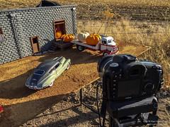 Giant Pumpkin Harvest BTS (khendrix21) Tags: 124 scale diecast gmc truck giant pumpkins buick roadmaster