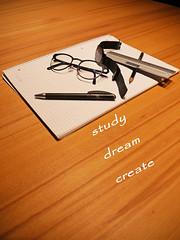 School (Niclas Matt) Tags: glasses pen pencil paper block blog stillife stillben school student students motivation writing