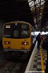 2814+2813 at Limerick, 22/10/16 (hurricanemk1c) Tags: limerick railways railway train trains irish rail irishrail iarnrd ireann iarnrdireann 2016 class2800 commuter tokyucarcorp 2814 1540limerickjunctionlimerick