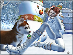 Do you want to play with me in the snow ?  (MISS V ANDORRA 2016 - MISSVLA ARGENTINA 2017) Tags: marvelousmonthlyevent cnz izzies luanesworld winter winterland snow blackbantam tannenbaum events mesh casualstyle models topmodel slfashionblogger blog firestorm blogging blogger flickr secondlife sl magikahairs kawa beauty peace roxaanefyanucci lesclairsdelunedesecondlife lesclairsdelunederoxaane nature hiver frozen fmsposes posemaker