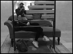 Therapy (Jordi Aragon) Tags: nikonf801 nikkor50mmf14d kodaktrix rodinal 150 5secagitationperminute filmrocks 20c 12minutes venezia italia labiennaledivenezia selfportrait