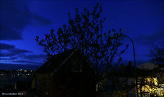 Blue hour in Trshavn, Faroe Islands 19.05.2016 (Marita Gulklett) Tags: froyar frerne faroeislands trshavn streymoy panasoniclumixdmcfz150 maritagulklett blitmin bluehour