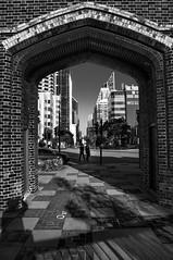 Prison arch (Richard Mart1n) Tags: travel monochrome black white perth australia street streetphotography nikon d5000