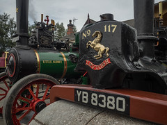 FOXFIELD (Ben Matthews1992) Tags: foxfield railway traction engine steam old vintage historic preserved vehicle transport british staffordshire england britain yb8380 af3373