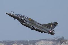 Dassault Mirage 2000D (Newdawn images) Tags: dassaultmirage dassault mirage 2000d 3ji 675 frenchairforce military militaryjet jet jetfighter natotigermeet ntm zaragoza spain canoneos6d canonef100400mmf4556lisusm