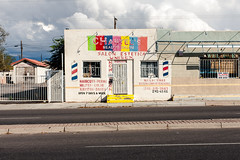 (el zopilote) Tags: albuquerque newmexico cityscape architecture street signs powerlines storefronts murals clouds canon eos 1dsmarkiii canonef50mmf14usm fullframe