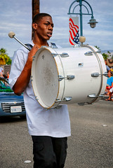 Parade Performer (Stefan Schafer) Tags: urban young musician celebrating d80 nikon palmsprings people parade man drum streetphotography music performer performance california desert