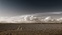 The Cool Sky And The Warm Wet Earth (Alfred Grupstra Photography) Tags: sky clouds cold earth warm water wieringerwerf noordholland nederland nl