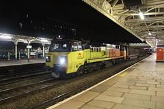 70808 (matty10120) Tags: photo taken at railway train class wales arriva newport 70 colas