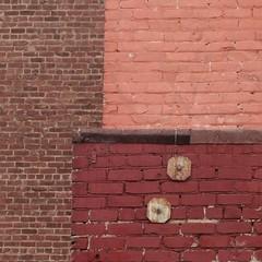 brick mix (msdonnalee) Tags: brick brique ladrillo abstractreality mattone zeigel wall brickwall muro