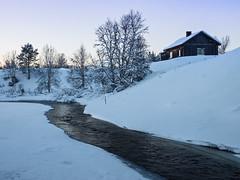 Polar night (Paatus) Tags: lapland finland inari winter snow ice polarnight river