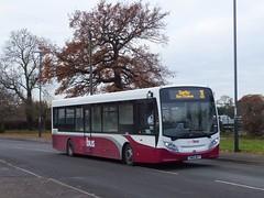 Yourbus 1405 Trenton Green (Guy Arab UF) Tags: yourbus 1406 sn66wlo alexander dennis e20d enviro 200 bus trenton green chaddesden derby derbyshire independent buses