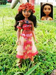 I AM MOANAAAAAA re-paint (They Call Me Obsessed) Tags: moana disney store doll dolls barbie new limited hasbro world land parks princess princesses royal hawaii maui aulii cravhlo the rock end dwayne johnson upcoming edition ooak custom real repaint paint art