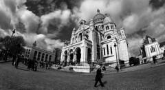 Basilica del Sagrado Corazon de Montmartre / Baslica del Sacr Cur (PrimiFer) Tags: baslica del sacr cur sacrcur basilica sagrado corazon montmartre paris iglesia nikon 8mm