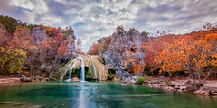 Oklahoma Pleasures (Calpastor) Tags: landscape travel waterfall falls water park oklahoma turner arbuckle