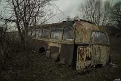 Old Tourbus 2 (Ulvraith) Tags: old classic rusty abandoned bus skoda 706ro czech republic sony a500