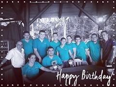 #happybirthday to our #teammate Cristian Cerdas. #felizcumpleaños #puravida