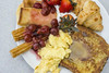2016-10-16 TUDS Autumn Brunch Carm 005 (consolecadet) Tags: tuds tuftsdining tufts food brunch breakfast strawberries cherries cherrysauce scrambledeggs frenchtoast crepes croissant