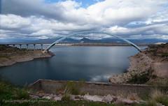 Roosevelt Lake & Bridge (Gallopingphotog) Tags: apachetrail arizona inspirationpoint lakeroosevelt rooseveltdam