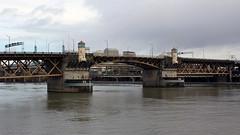 Burnside Bridge (JB by the Sea) Tags: portland oregon multnomahcounty december2016 burnsidebridge bridge willametteriver river